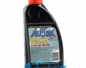 Тормозная жидкость DOT 4 LV (low viscosity) ALPINE Brake Fluid 0,5л
